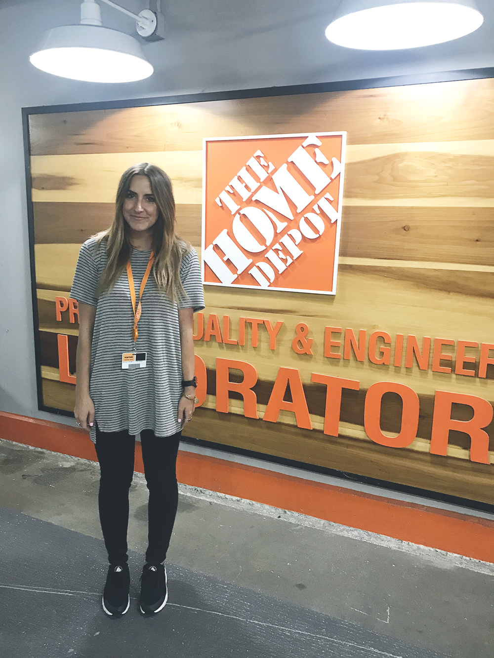 The Home Depot tests all of their in-house brands extensively in their secret basement testing lab. Very cool!