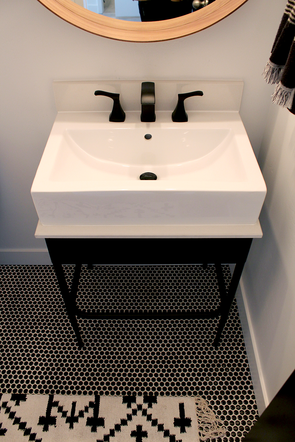 Before & After Bathroom: Why Black Modern Hardware Can Make All The ...