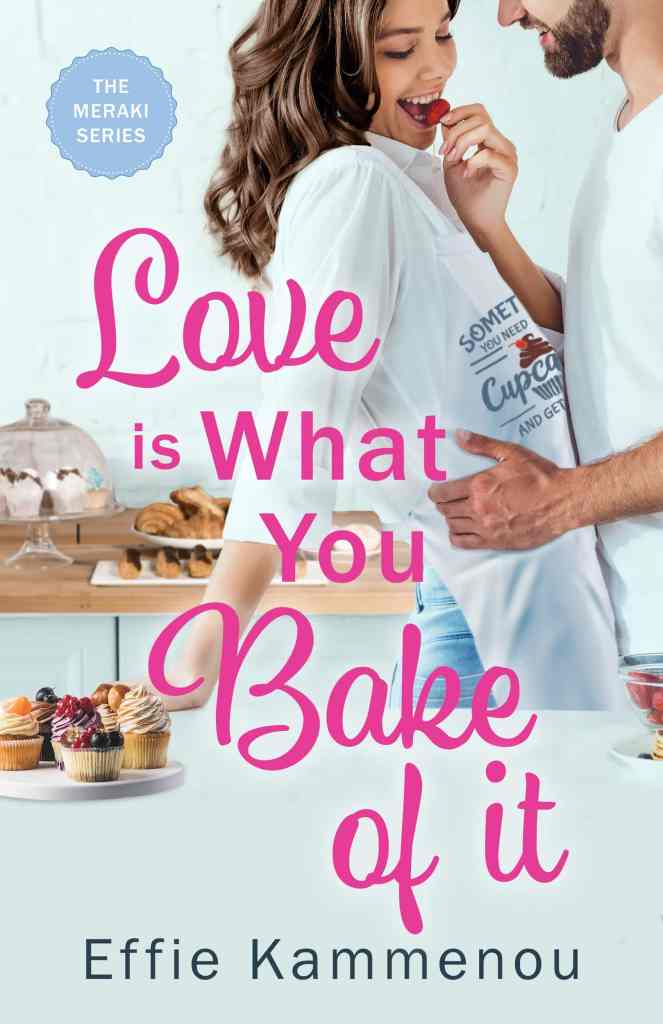 Cover image graphic for Love is What You Bake of it.
