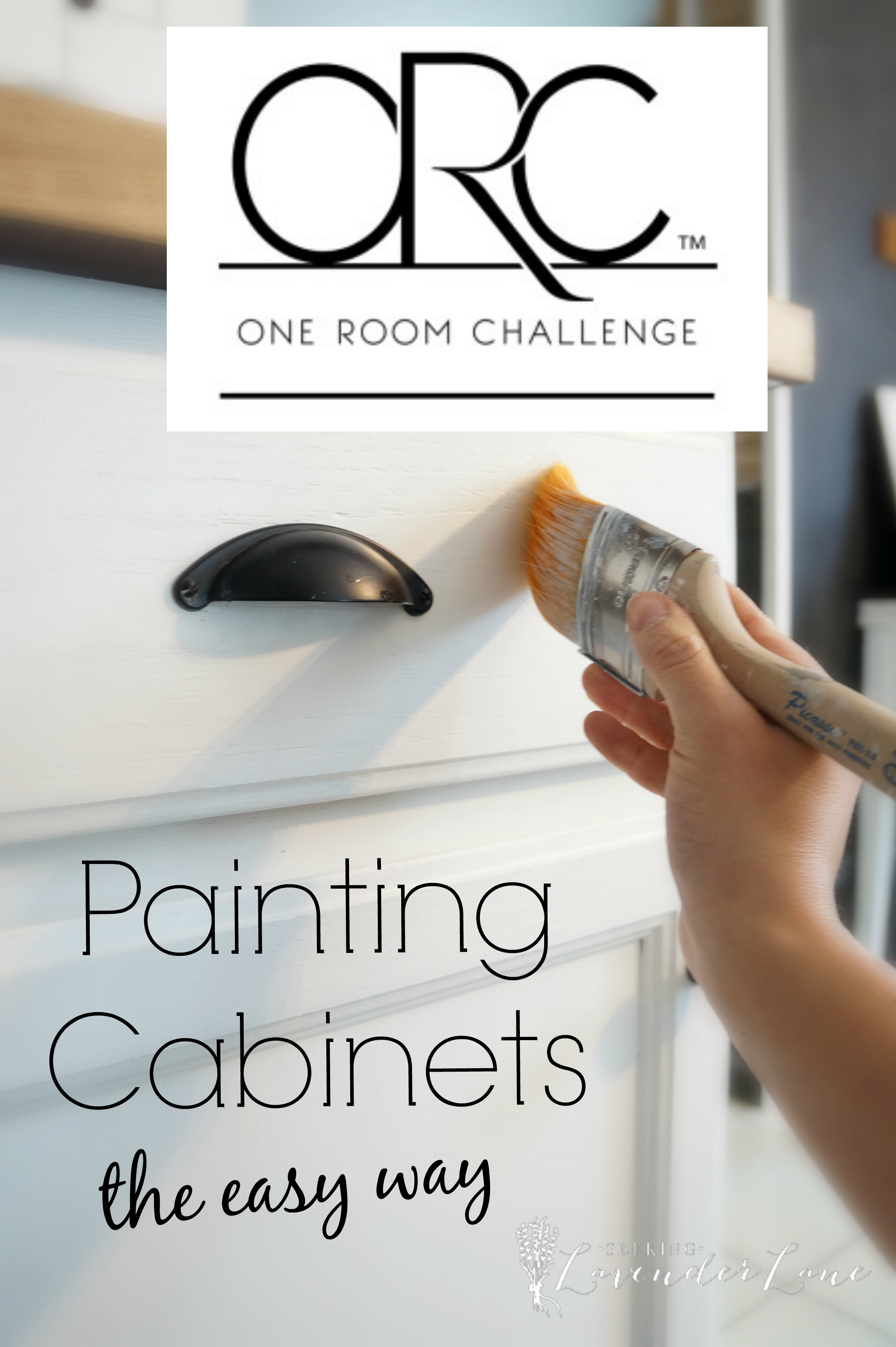 Best Kitchen Gallery: Painting Kitchen Cabi S The Easy Way Seeking Lavendar Lane of Easy Way To Paint Kitchen Cabinets on rachelxblog.com