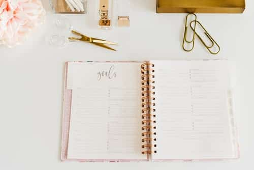 goal setting journal prompts