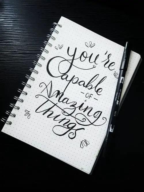 journaling for self awareness