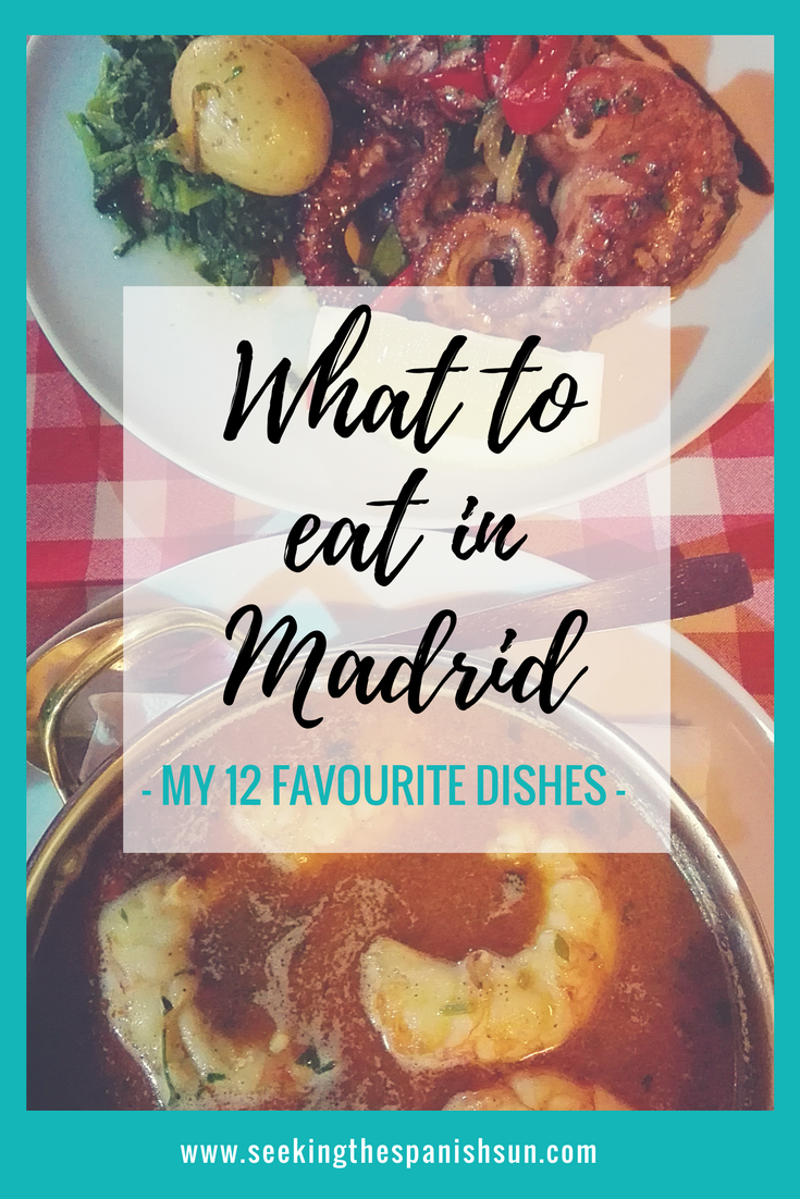 P - What to eat in Madrid