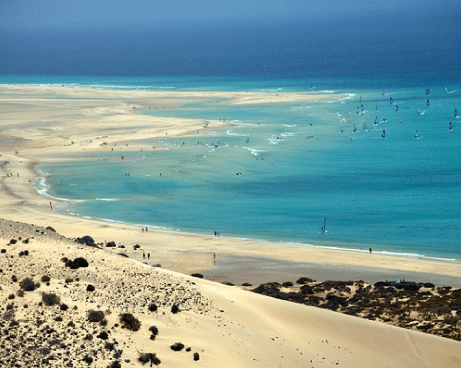 Fuerteventura in Spain is great for winter sun