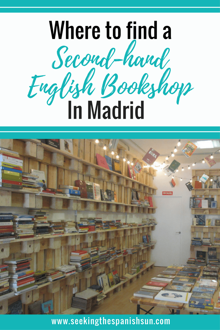 Where to find an English bookshop in Madrid