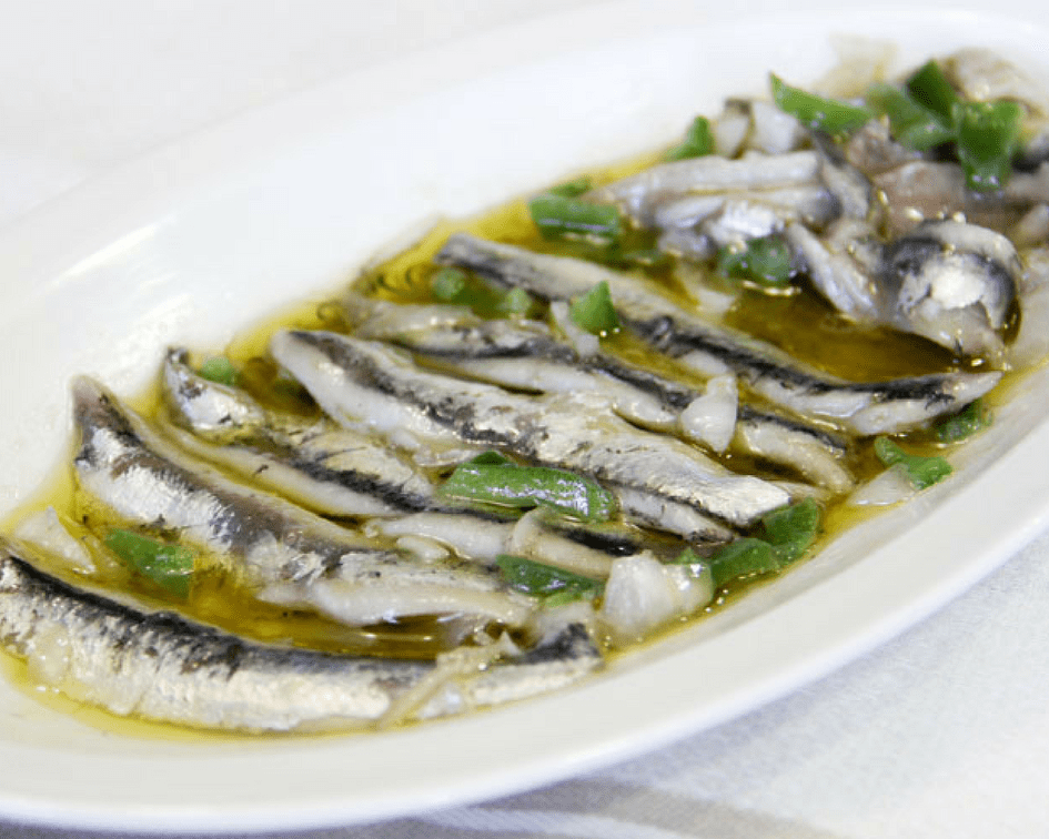 The most delicious seafood in Spain - Boquerones