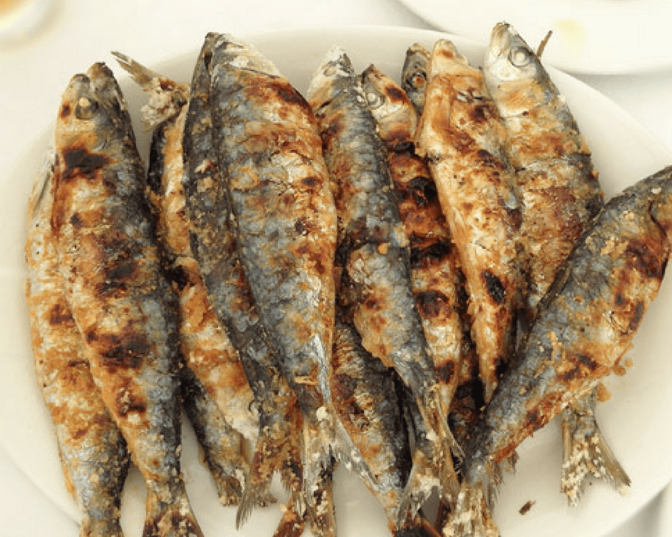 The most delicious seafood in Spain - Sardinas