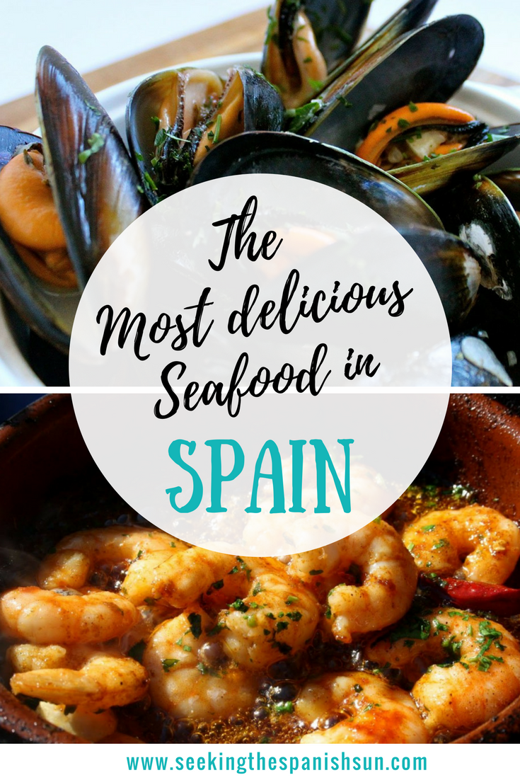 The most delicious seafood in spain