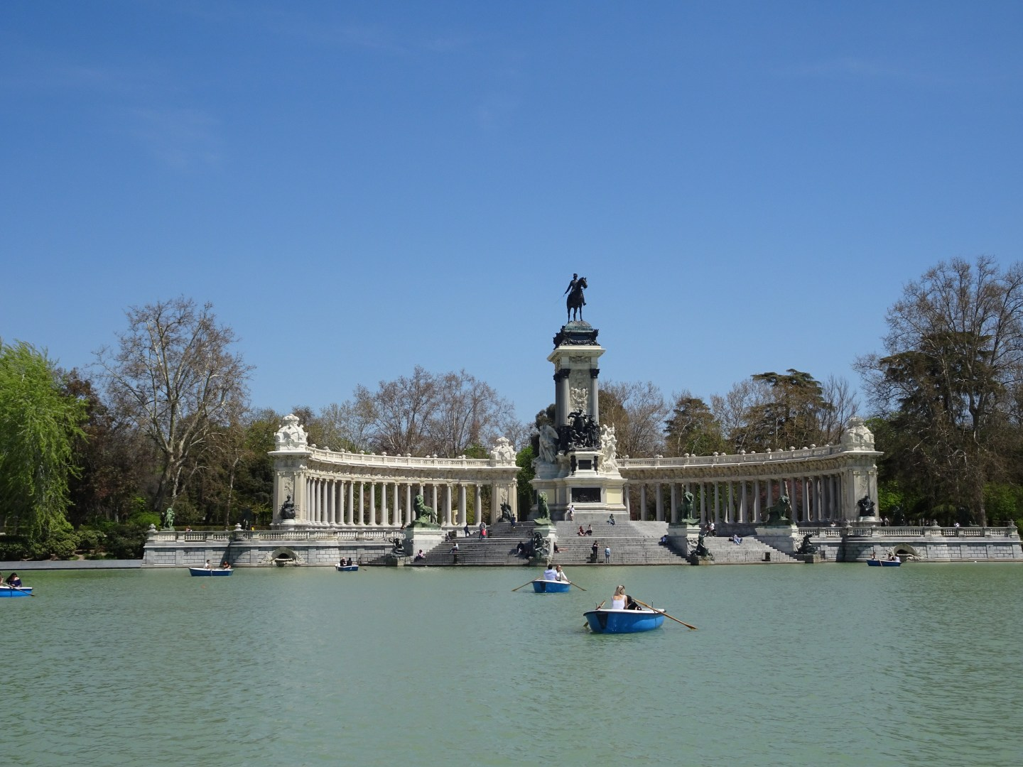 Madrid Retiro Boating Lake