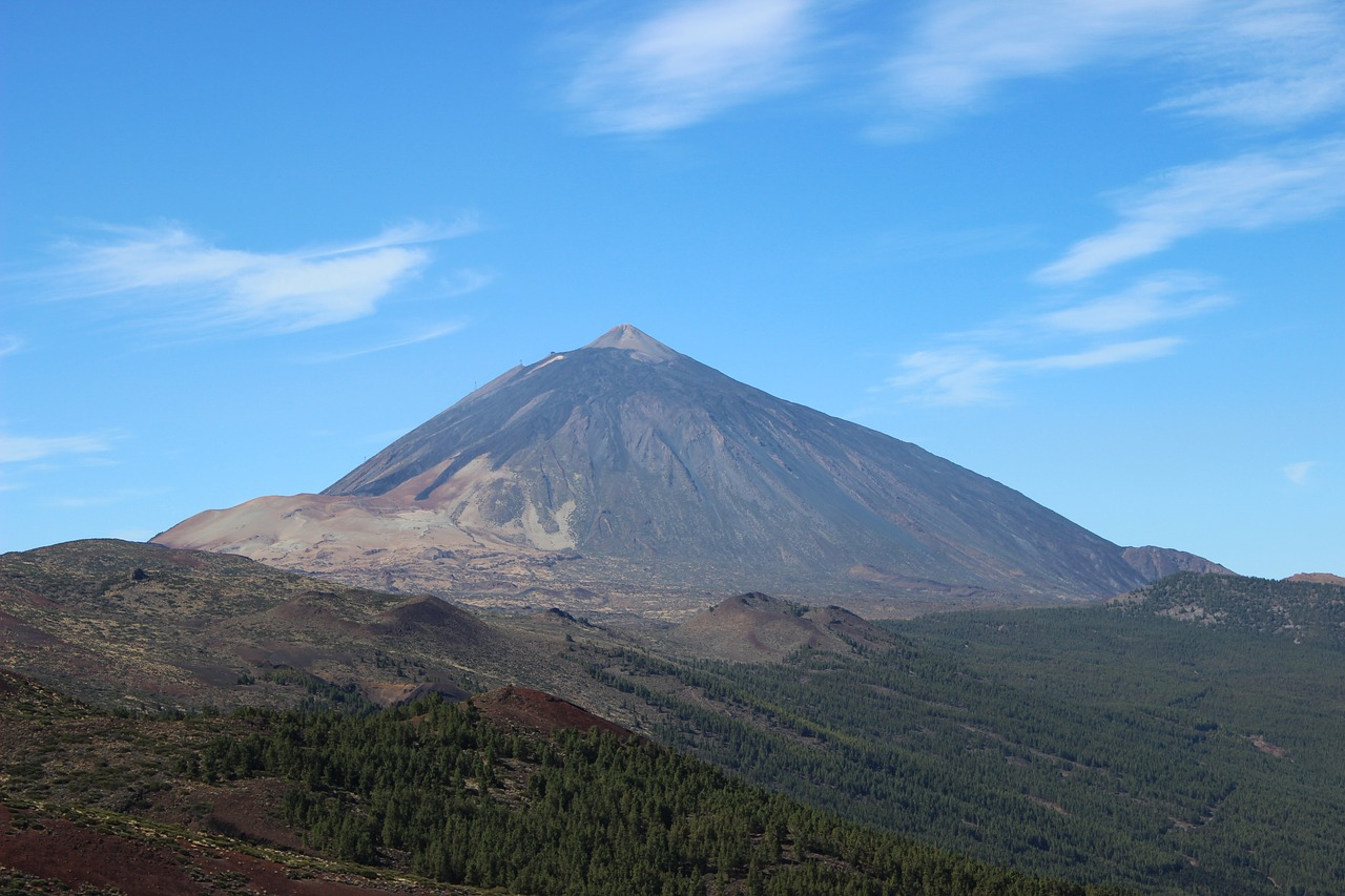 Visiting Mount Teide