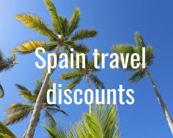 Spain travel discounts