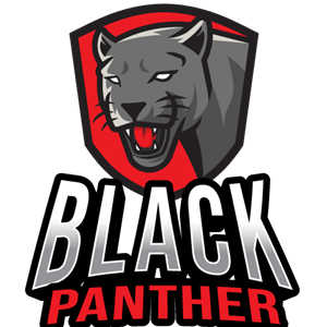 Black Panther Esport Logo Vector Ai Free Download