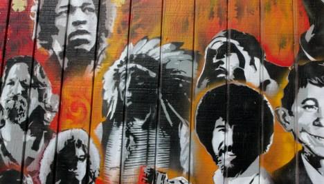 Utah Arts Alliance Legends mural close-up 3