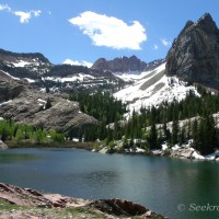 Sundial Peak and Lake Blanche....