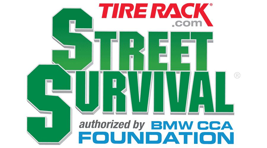 tire rack street survival vector logo