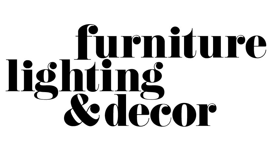 furniture lighting decor vector logo
