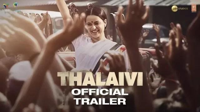 Thalaivi 2021 Full Movie Download Filmyzilla HD