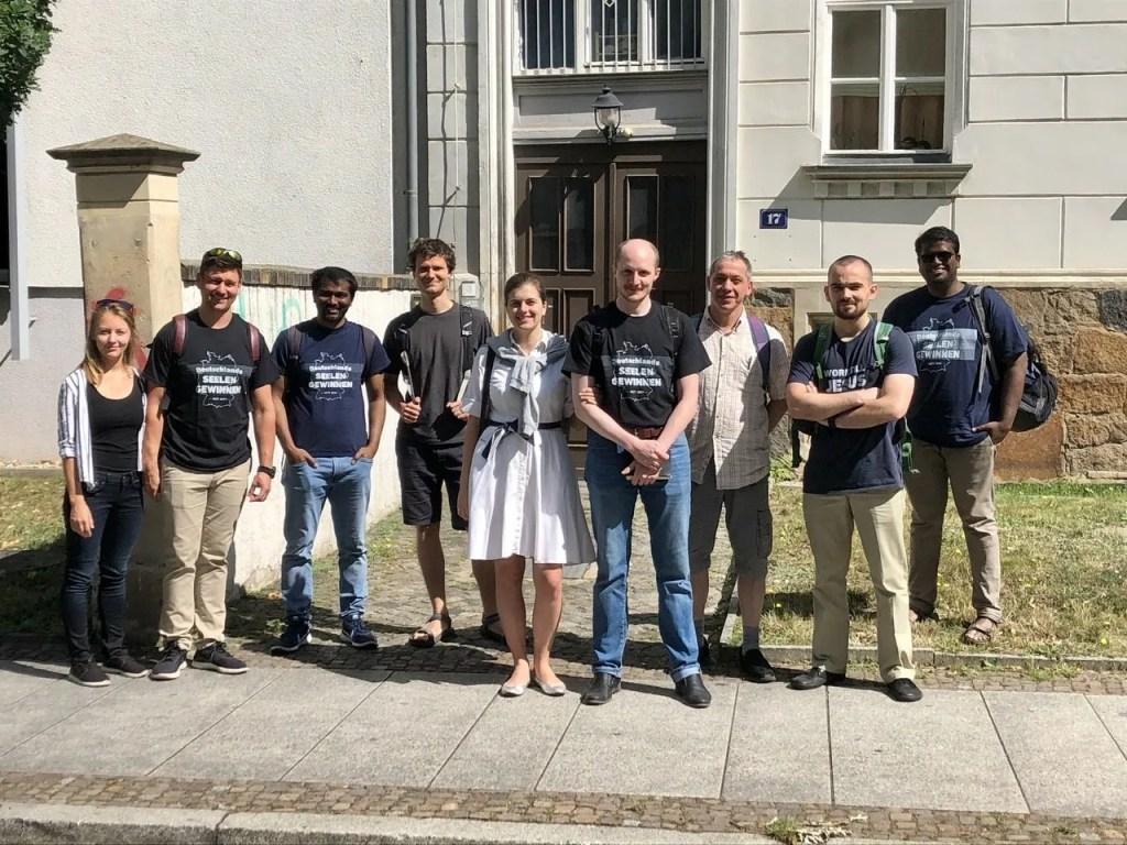 Unsere Seelengewinnen-Gruppe in Leipzig