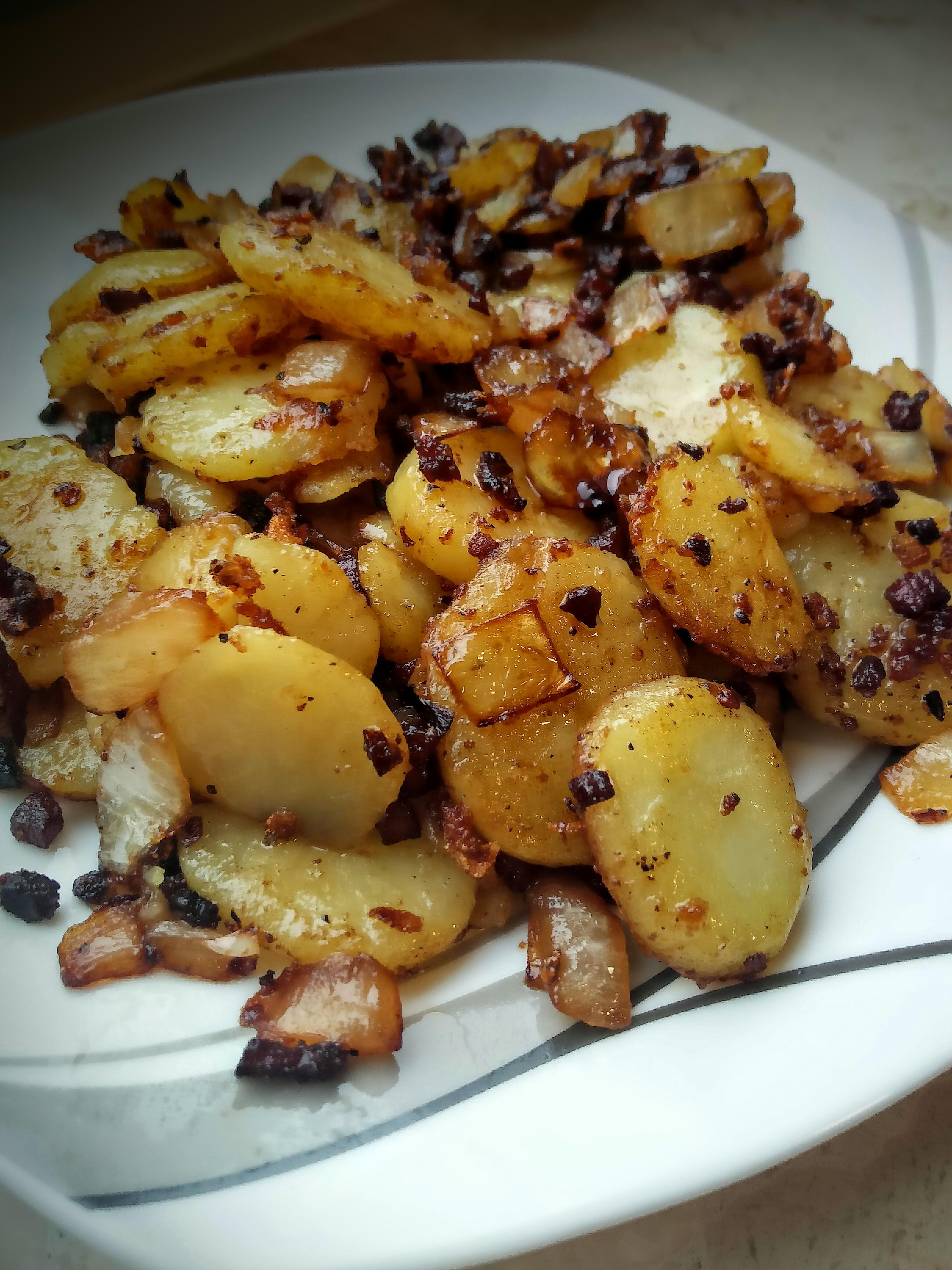 Seelenfutter Knusprige Bratkartoffeln