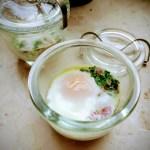 Etwas andere Frühstücksidee: Ei im Glas