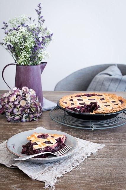 Blueberry Pie | seelenschmeichelei.blogspot.com