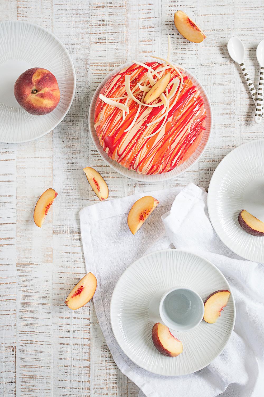Bellini Torte mit Mirror Glaze | seelenschmeichelei.de