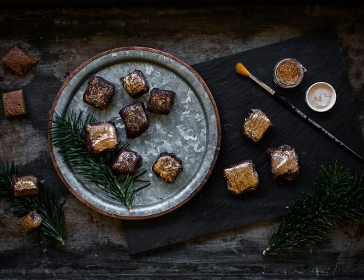 Blätterkrokant Pralinen | seelenschmeichelei.de