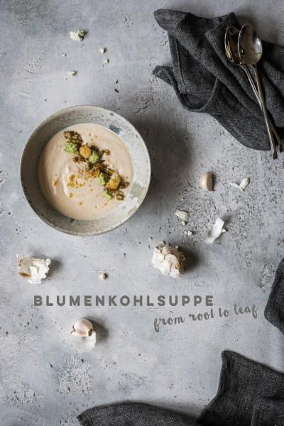Geröstete Blumenkohlsuppe | seelenschmeichelei.de