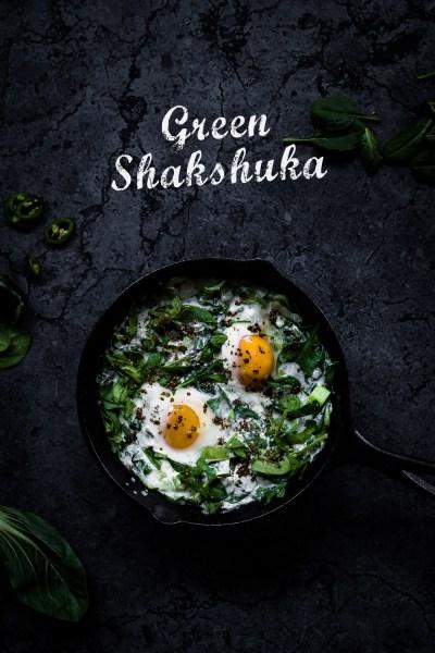 Grüne Shakshuka   seelenschmeichelei.de