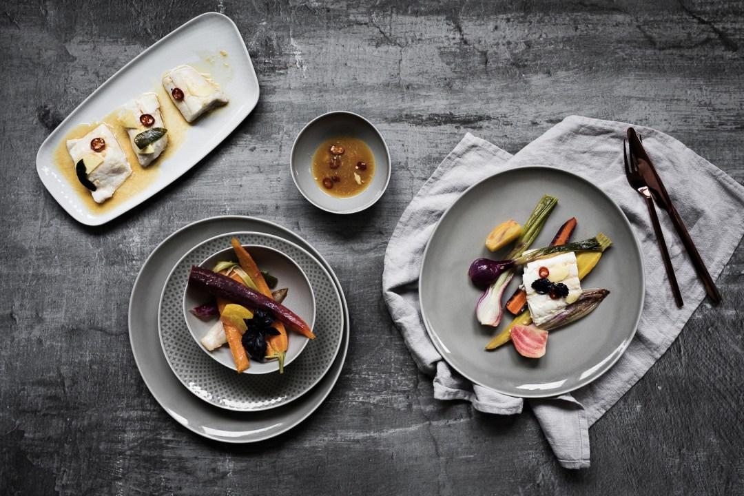Gemuesesalat mit Orangen Miso Dressing und Schellfisch Asia Style   seelenschmeichelei.de