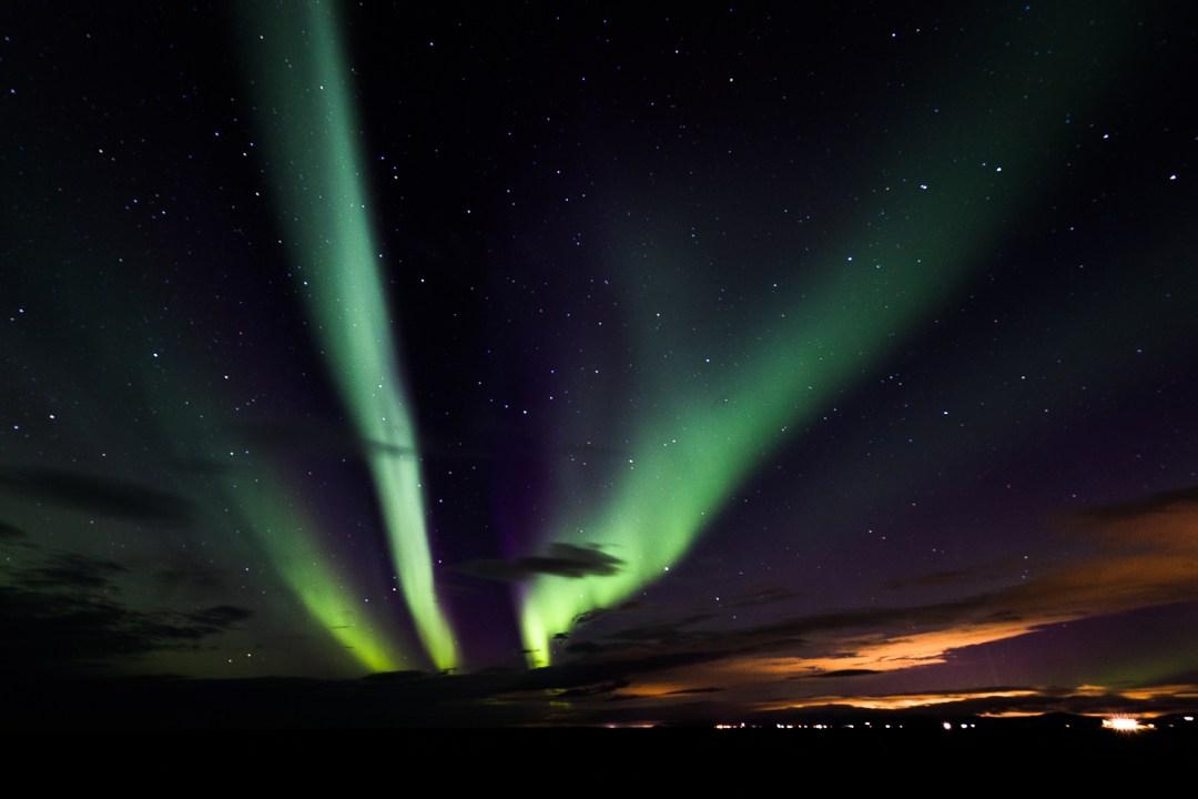 Nordlichter in Island   Aurora Borealis   Northern Lights   seelenschmeichelei.de