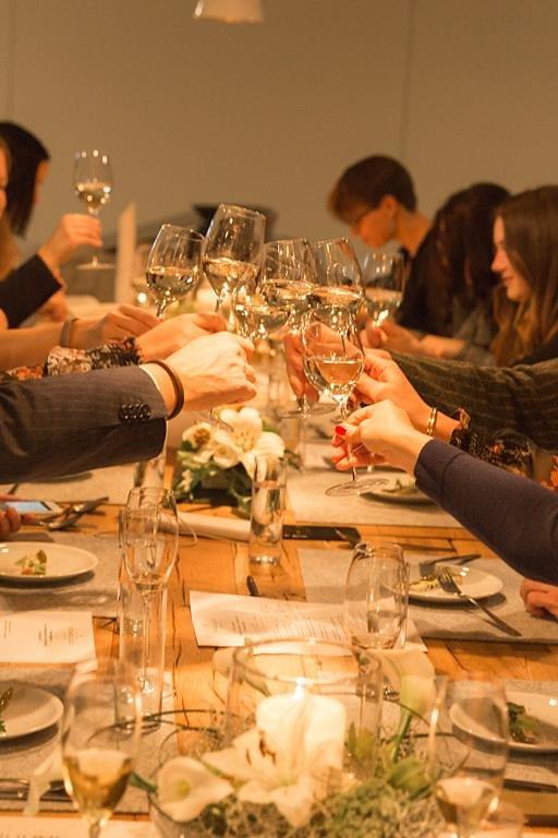 Highfoodality Supperclub bei Henkell   seelenschmeichelei.de