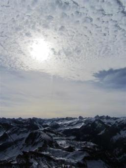 Nebelhorn-Ausblick.