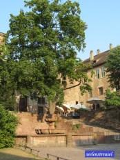 Cafe im Heidelberger Schloss
