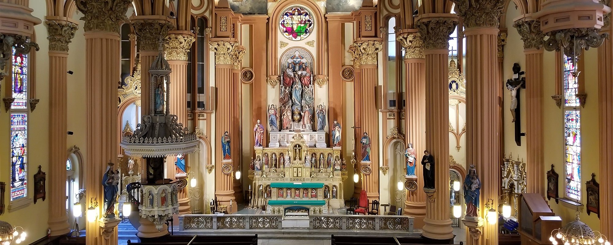 St. Mary's Assumption Church in New Orleans, LA