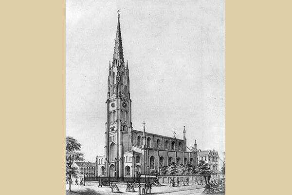 St. Philomena Church in Pittsburgh