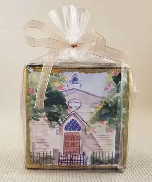 St. Mary's Chapel miniature watercolor