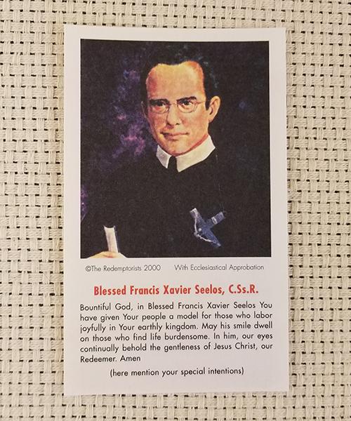 """Bountiful God"" Paper Prayer Card"
