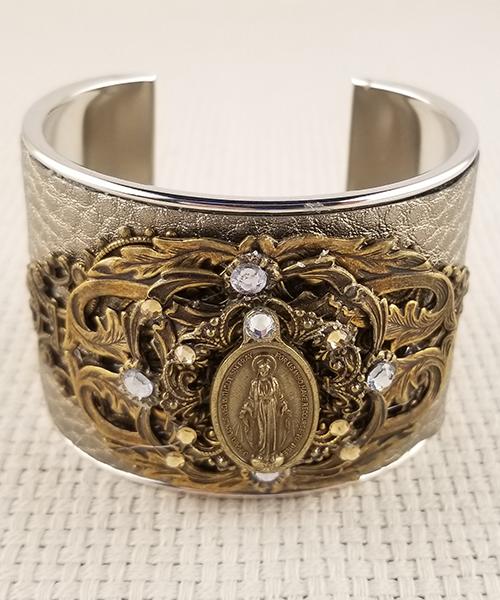 Large OMPH cuff bracelet