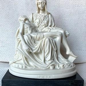 Ivory Pieta statue