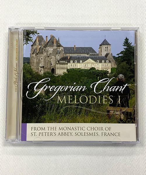 """Gregorian Chant Melodies I"" CD"