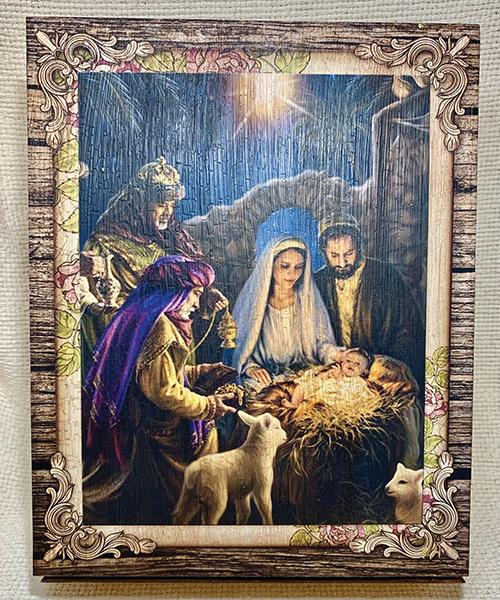 Nativity Scene box