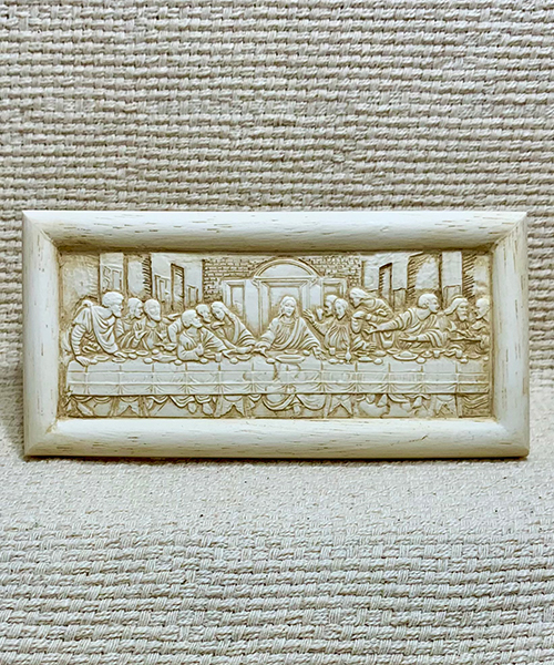 Small Last Supper plaque