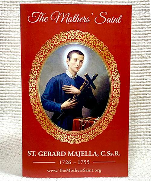 St. Gerard prayer card