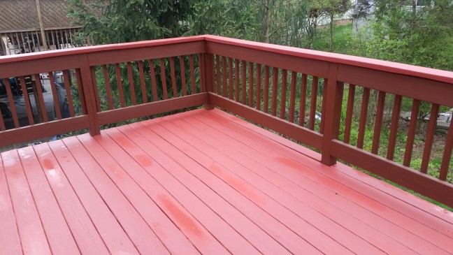 Two-tone deck.