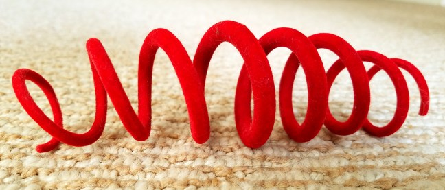 red open loop toy