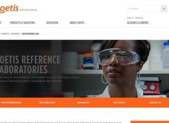 Zoetis Reference Laboratories website