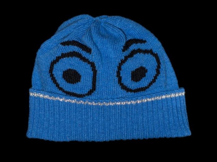 Benji Blue Cashmere Reflective Hat