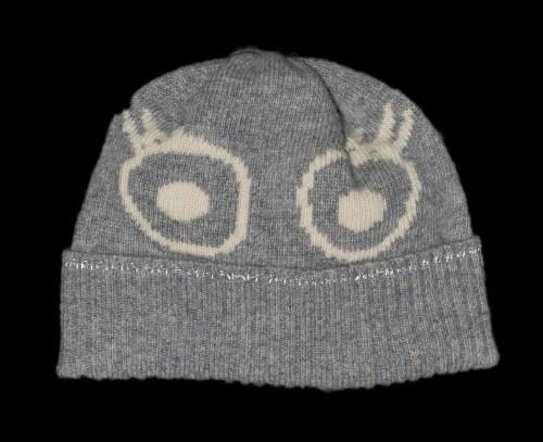 Sofia Grey Kids Cashmere Hat
