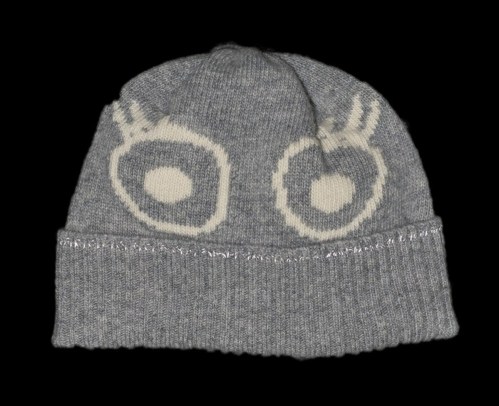 Sofia Grey Kids Cashmere Hat
